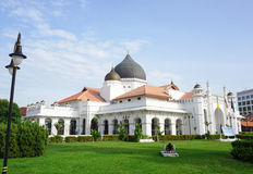 View of Al Azim mosque in Melaka Stock Image