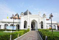 View of Al Azim mosque in Melaka Royalty Free Stock Images