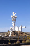 View of Al Campesino Monument ( Stock Photography