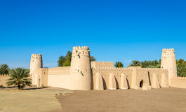 View of Al Jahili Fort in Al Ain Royalty Free Stock Images