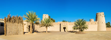 View of Al Jahili Fort in Al Ain Royalty Free Stock Image