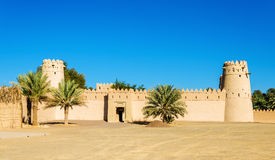 View of Al Jahili Fort in Al Ain Royalty Free Stock Photo