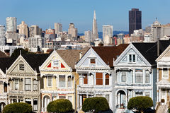 View from Alamo Square Royalty Free Stock Images