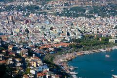 View at the Alanya Royalty Free Stock Photos