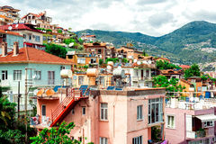 View of Alanya town Royalty Free Stock Photo