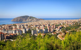 View at Alanya Royalty Free Stock Photos
