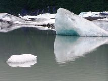 View of Alaska ice sheets and Glaciers Stock Photography