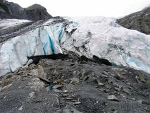 View of Alaska ice sheets and Glaciers Royalty Free Stock Image