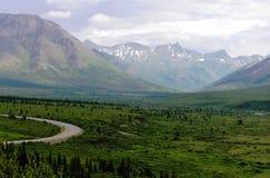 View of Alaska landscape Royalty Free Stock Image