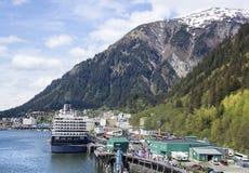 Alaska`s Capital Juneau Royalty Free Stock Photos