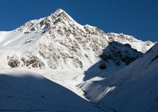View from Alay Mountain - Kyrgyzstan Royalty Free Stock Image