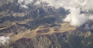 View on Albanian mountains Stock Photography