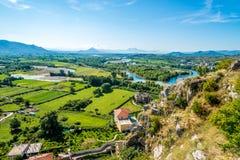 View at Albanian nature Stock Photos