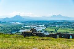 View at Albanian nature Royalty Free Stock Photos