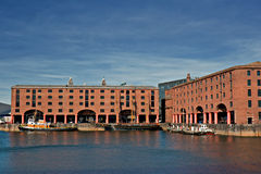 View of Albert Dock Stock Image