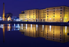 View of Albert Dock in Liverpool Royalty Free Stock Image