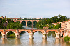 View of the Albi, France Royalty Free Stock Photography