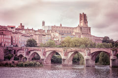 View of the Albi, France Stock Images