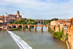 View of the Albi, France Royalty Free Stock Image