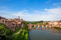 View of Albi, France Stock Images