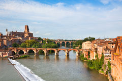 View of the Albi, France Stock Photos