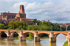 View of the Albi, France Stock Photography