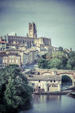 View of the Albi, France Stock Image