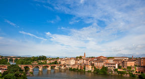 View of Albi, France Royalty Free Stock Photography