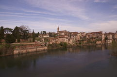View of Albi in France Royalty Free Stock Image