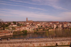 View of Albi in France Stock Images