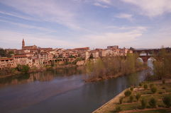 View of Albi in France Royalty Free Stock Photography