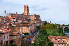 View of the Albi, France Royalty Free Stock Photo