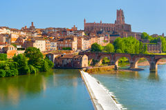 View of Albi Royalty Free Stock Image