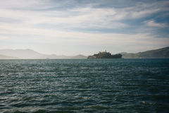 View of Alcatraz Island, in San Francisco  Royalty Free Stock Photography