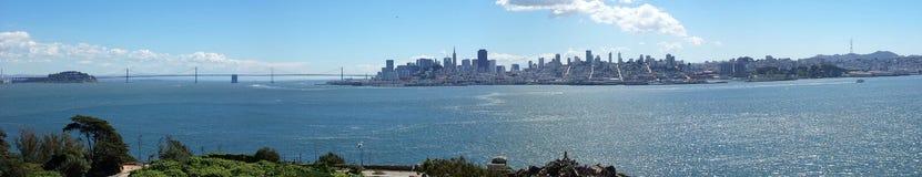 Skyline San Francisco - Panorama stock photography