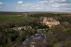View from Alcazar castle in Segovia, Spain Stock Photos