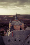 View from Alcazar castle in Segovia Royalty Free Stock Photos
