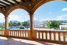 View from Alcazar de Colon Royalty Free Stock Images