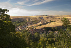 View from the Alcazar of Segovia (Spain) Stock Photography