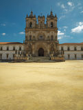 View of Alcobaca Monastery Royalty Free Stock Photography