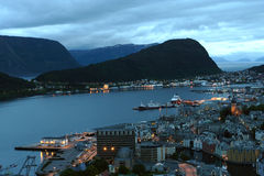 View of the Alesund Stock Photo