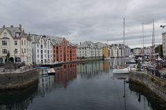 View of Alesund. A view of Alesund, norway Royalty Free Stock Images