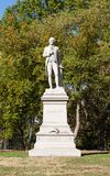 The Alexander Hamilton Monument in Central Park. A view of the Alexander Hamilton Monument in Central Park, New York City Stock Photo