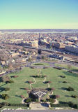 View of Alexandria, Masonic Memorial. The George Washington Masonic Memorial in Alexandria is a landmark and dominates the city's skyline. The memorial Royalty Free Stock Image