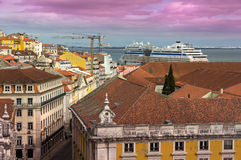 View of Alfama in Lisbon Royalty Free Stock Image