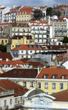 View of Alfama in Lisbon Stock Photo