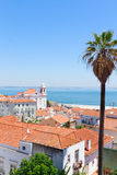 View of Alfama, Lisbon, Portugal Royalty Free Stock Photos