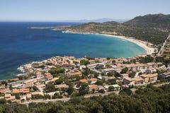 View of algajola Stock Photos
