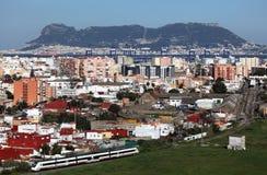 View of Algeciras Stock Photo