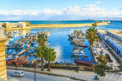 View of Algiers the capital of Algeria stock photography